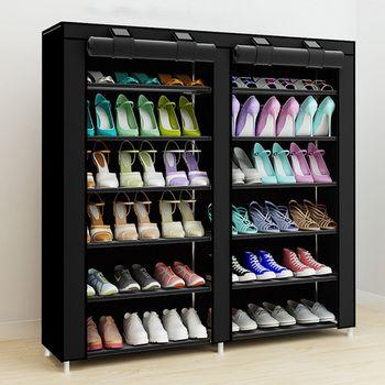 43,3-дюймовый 7-слойная 9-сетка из нетканного полотна большой органайзер для обуви Съемный ящик для хранения обуви для домашней мебели шкаф дл...