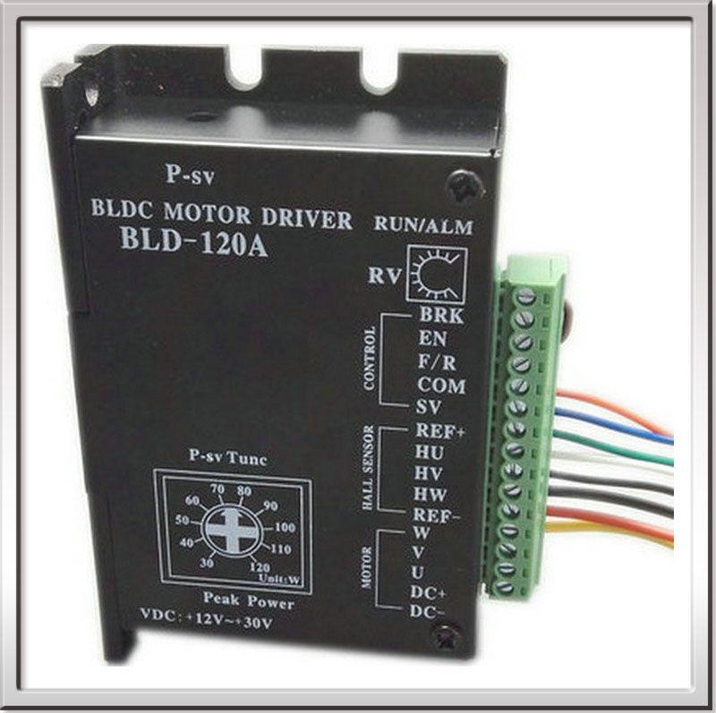 Freies verschiffen CER ROHS Bürstenlosen gleichstrommotor Fahrer BLDC Controller BLD-120A für 120 Watt oder weniger 42 Brushless Motor