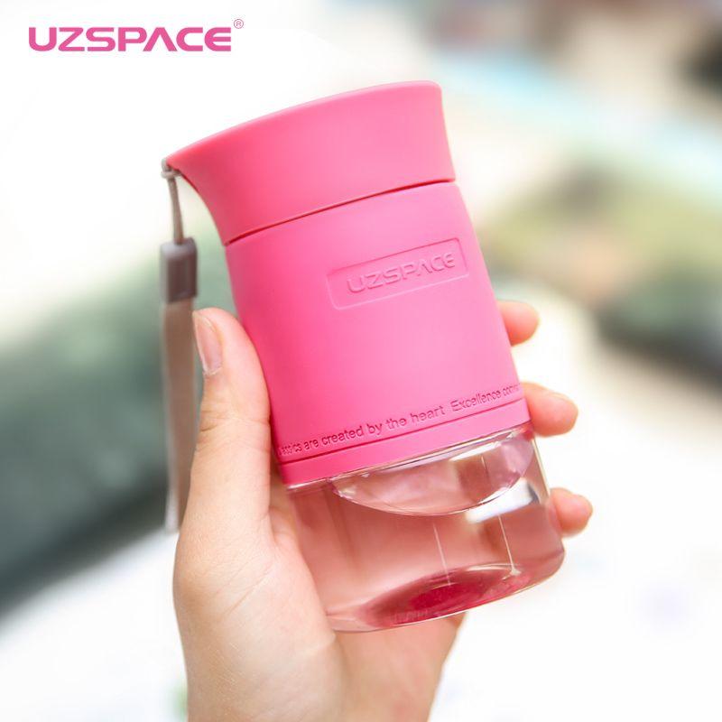 Protéines Shaker Uzspace Belle Mini-Madame Étudiant Originalité Amateurs Portables Tasse À La Main 200 Ml Boisson Bouteille Tritan (bpa livraison)