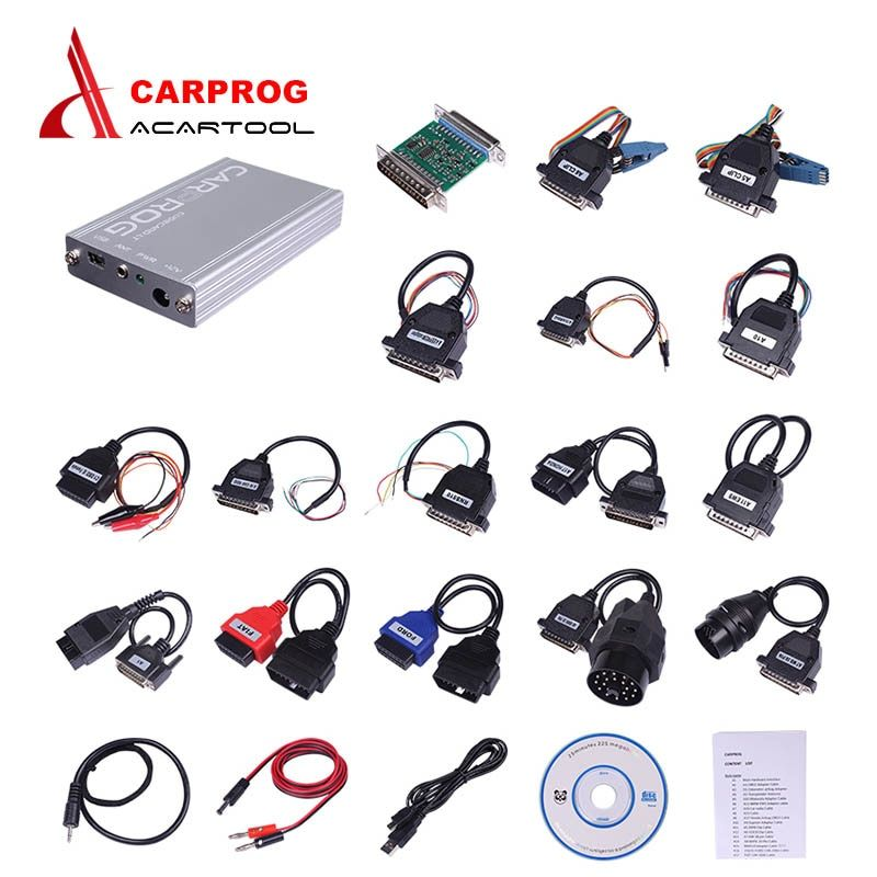 NEWEST CARPROG Full V10.05 Programmer with All Softwares(radios, odometers, dashboards, immobilizers) Carprog ECU Chip Tunning