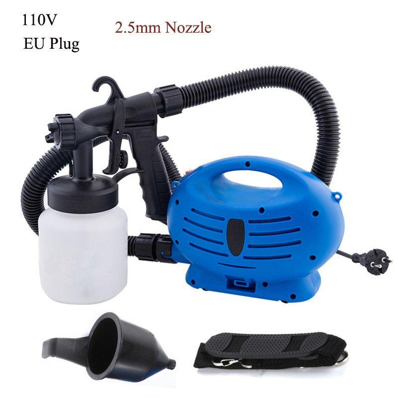 Elektrische Spritzpistole Mit Luft Kompressor Drei Spray Muster Farbe Sprayer Für Beschichtung Möbel Wand Auto Holzbearbeitung Airbrush