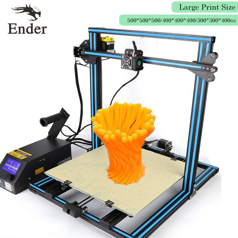 2018 Mise À Jour CR-10 4S Imprimante 3D DIY KIT Filaments Surveillance D'alarme Protection n Double-Leader-Vis Tige n Filaments Creality 3D