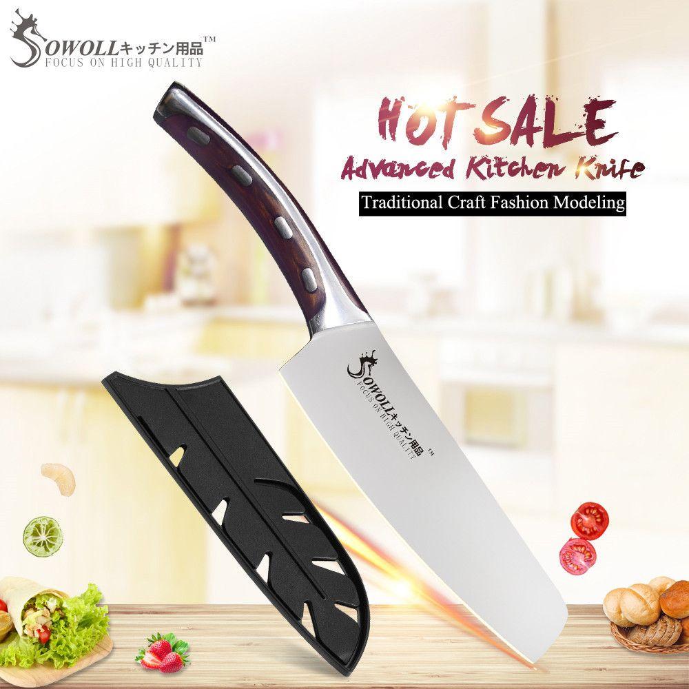 SOWOLL Brand 4cr14mov Stainless Steel Blade Single 6