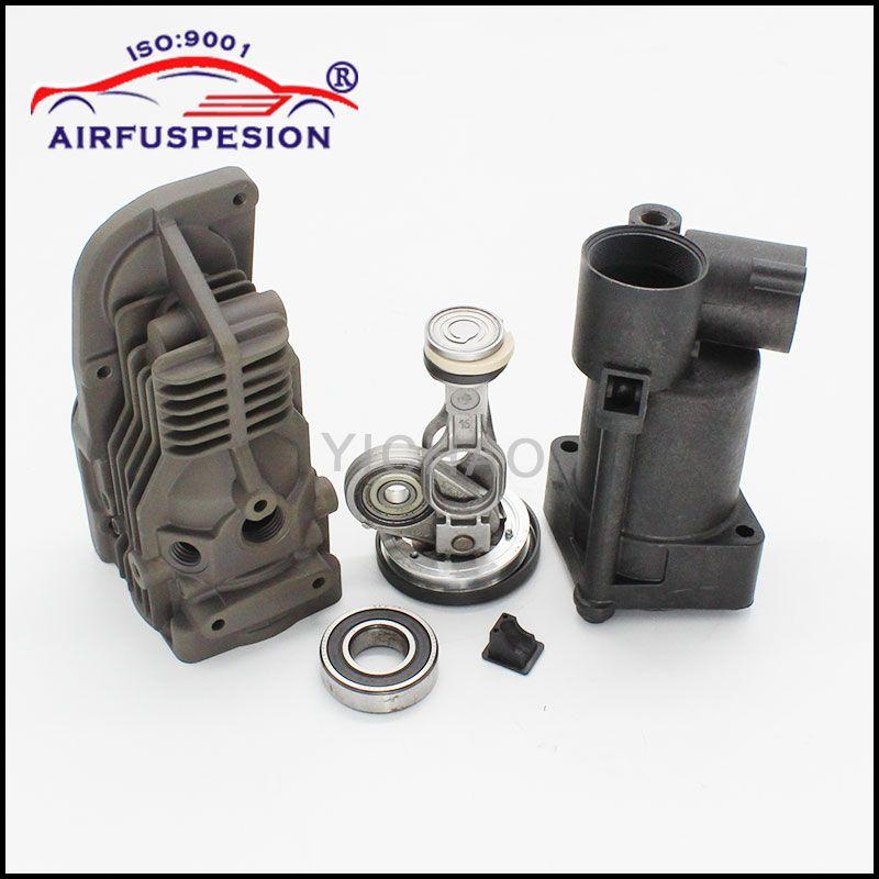 for Mercedes W164 W221 W251 W166 Connecting Rod Piston Air Suspension Compressor Pump Repair Kits 1643201204 2213201304