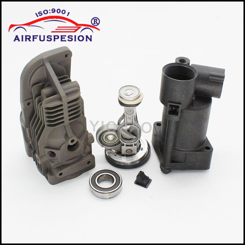 for Mercedes W164 W221 W251 W166 Connecting Rod Piston Cylinder Air Suspension Compressor Pump Repair Kits 1643201204 2213201304