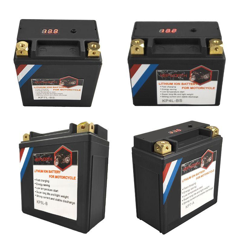 12V 4 5 7 9 10 12 14Ah CCA 160 180 260 350 450 520A LiFePO4 Motorrad Batterie LFP motorrad BMS mit Spannung Schutz
