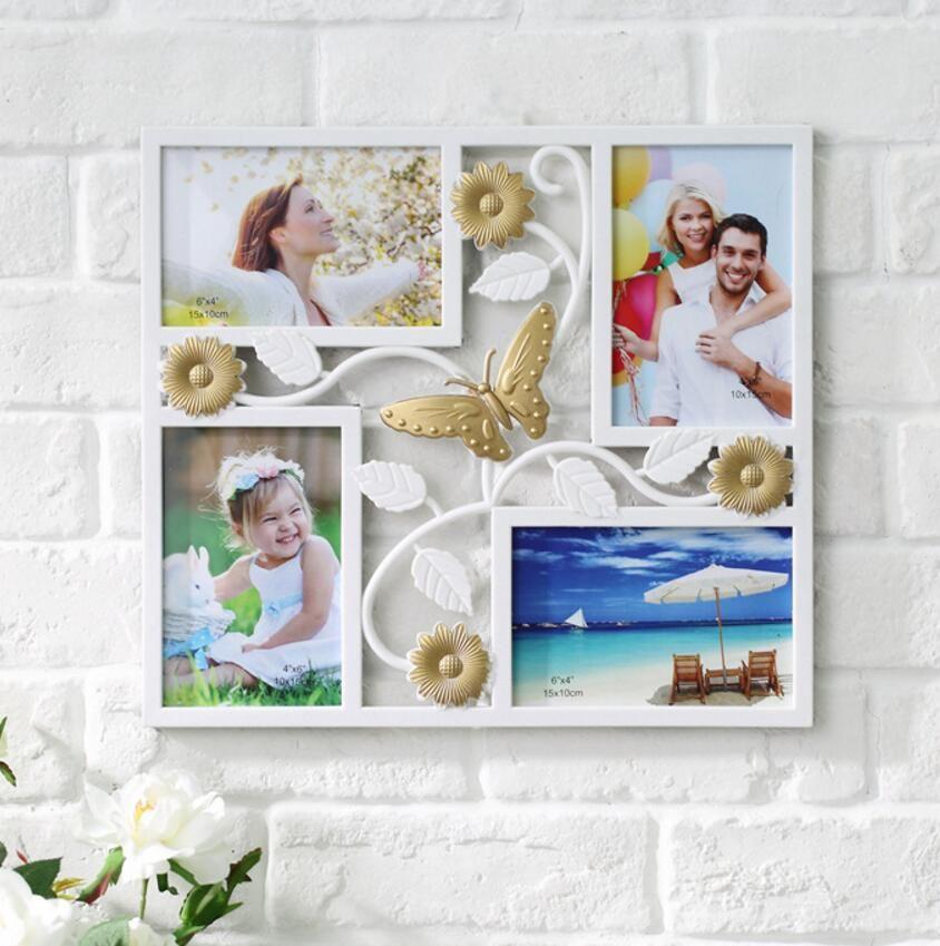 SUFEILE famille cadre photo européen créatif mariage photo combinaison cadre photo décoration murale cadre photo décoration D5