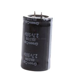 1PC Farad Capacitor 2.7V 500F 35*60MM Super Capacitors Through Hole General Purpose