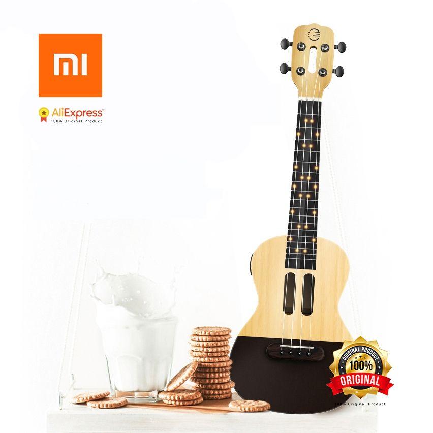 Xiaomi Populele U1 Intelligente Ukulélé APP 23 pouce téléphone intelligent ukulélé Uke pour débutants cadeau Adapterization 4 cordes Guitare