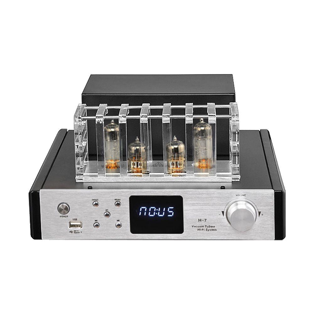AIYIMA HIFI 6N13 6F1 Rohr Power Verstärker 2,1 Kanal Bluetooth 4,0 100Wx2 Amplificador Audio Rohr AMP Mit Fiber Coaxial Eingang