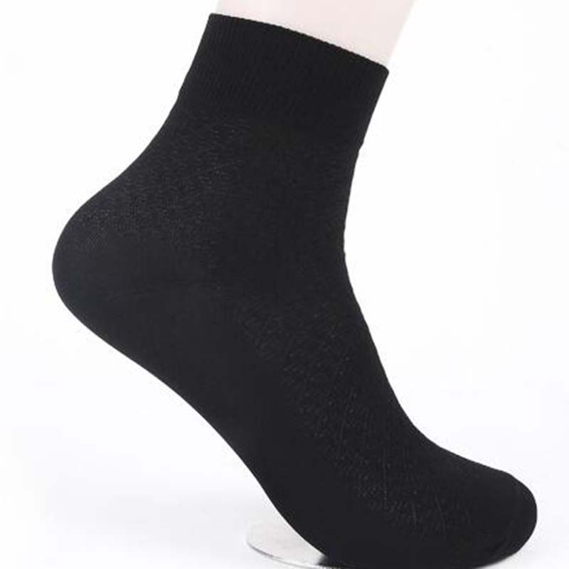 USUS-2M new Summer  Pure Color Breathable Wild Simple men Socks