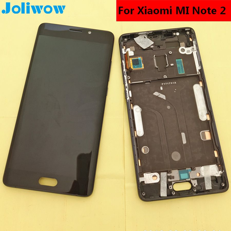 tested! For Xiaomi Mi Note 2 note2 LCD Display+Touch Screen+frame Assembly Replacement Accessories for phone 5.7