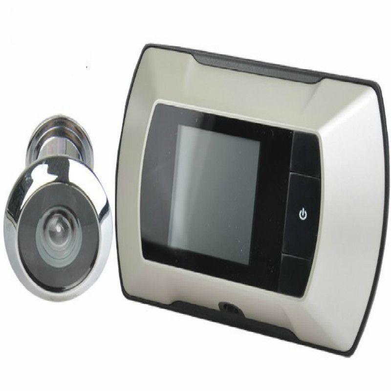 2.4 Pulgadas 300000 Píxeles Ampliar La Puerta Del Peephole De 100 Grados Ángulo de Visión Video Del Ojo Ojo Electrónico