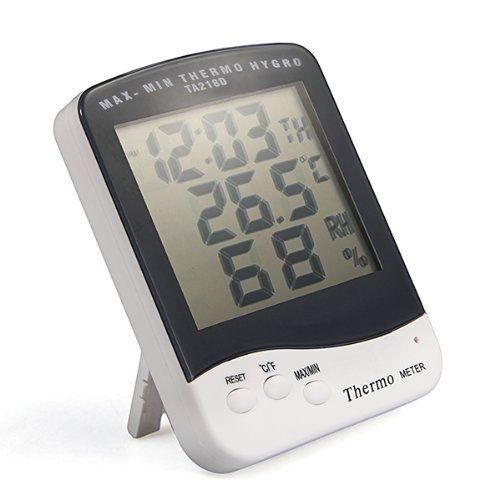 NFLC Digital LCD Indoor Hygrometer Temperature Temp Meter
