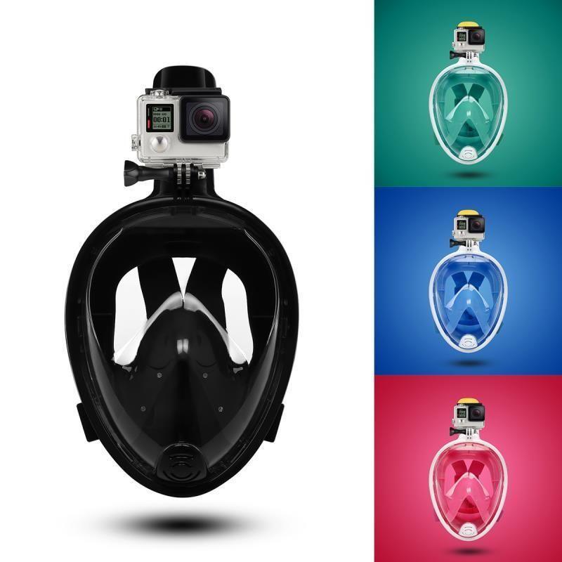 Scuba Diving Mask Full Face Snorkeling Mask Underwater Anti Fog Snorkeling Diving Mask For Swimming Spearfishing Sport Scuba