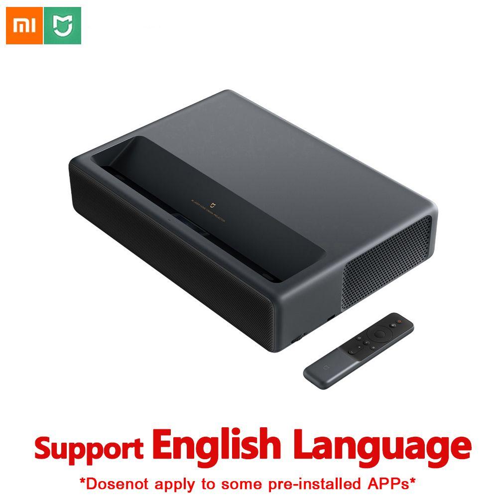 Original Xiaomi Mijia 4 K Laser Projektion TV Heimkino 150 Zoll Wifi Bluetooth Englisch Interface 3D Projektor HDR Unterstützung DTS