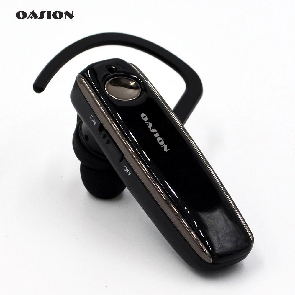 OASION sans fil mains libres Bluetooth casque anti-bruit D'affaires bluetooth écouteur sans fil casque pour un mobile téléphone