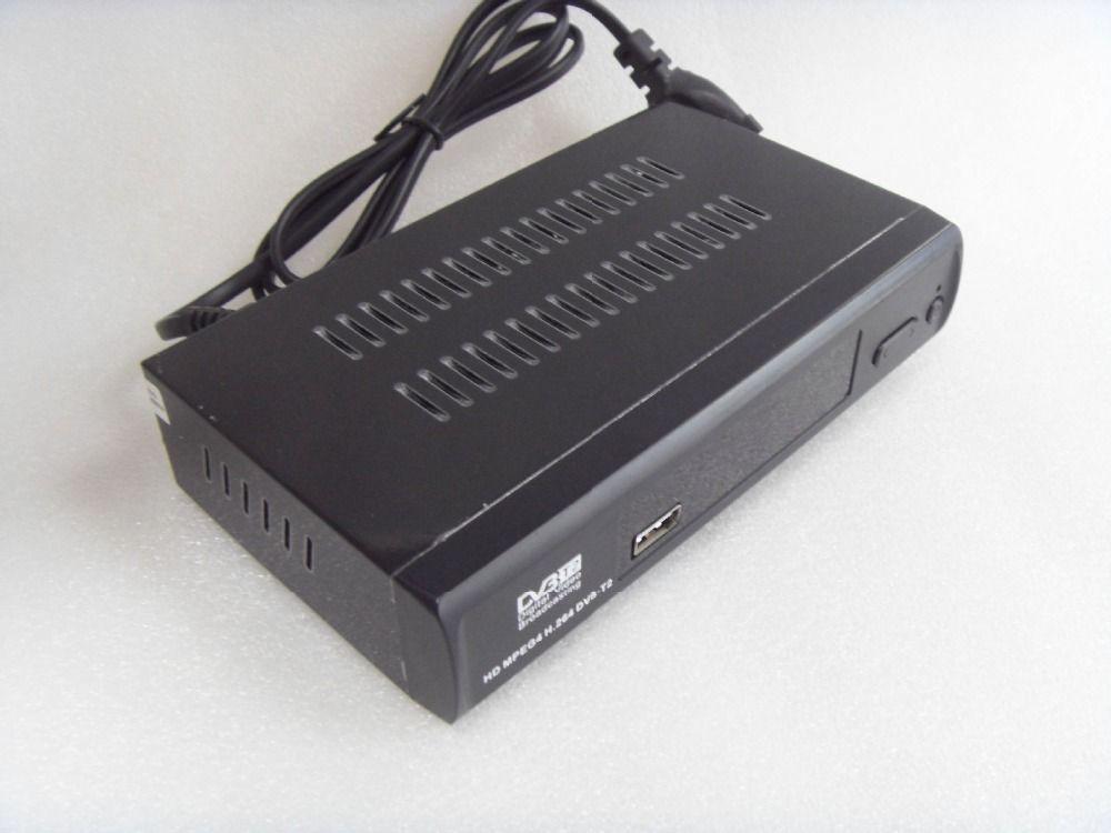 DVB-T2 DVB-T HD Numérique Vidéo Radiodiffusion Terrestre Récepteur Compatible avec MPEG-2/MPEG-4 H.264 Set Top Box DVBM2