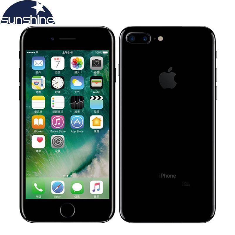 Débloqué Original Apple iPhone 7/iPhone 7 Plus Quad-core Mobile téléphone 12.0MP caméra 32G/128 g/256G Rom IOS Empreintes Digitales téléphone