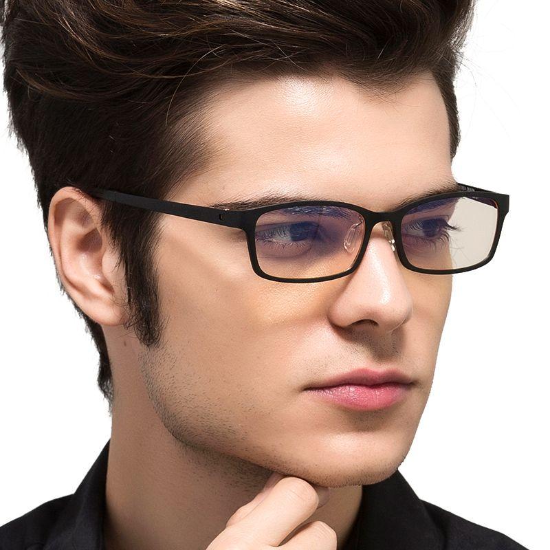DE TUNGSTÈNE CARBONE Ordinateur Goggle Anti Bleu Laser Fatigue résistant Aux Radiations Lunettes de Lecture Cadre Lunettes Oculos de grau 1310