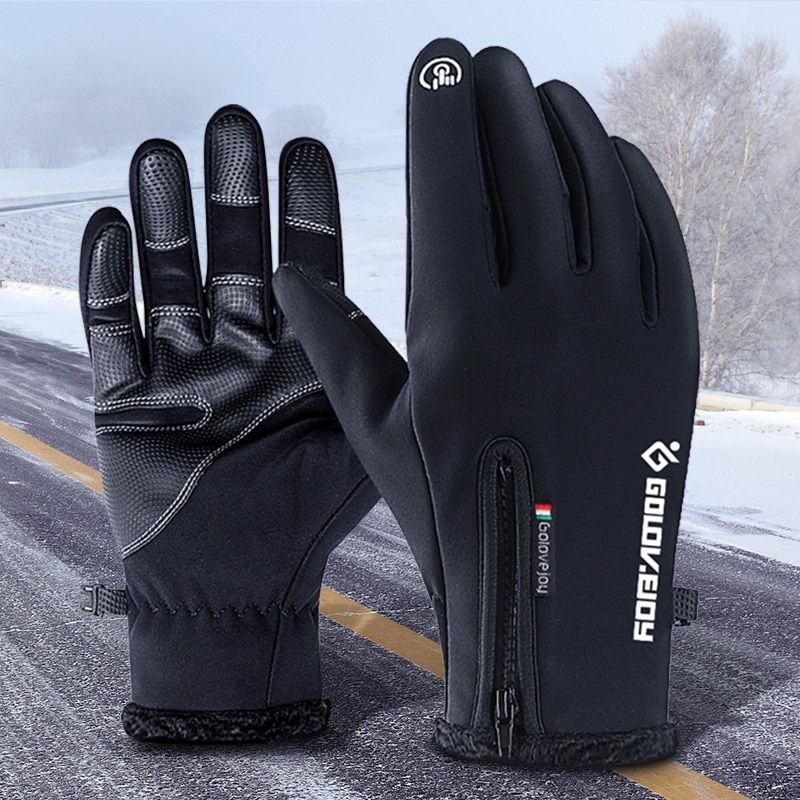 Motorcycle Gloves Heated Gloves Waterproof Guantes Moto Winter Touch Screen Luva Motociclista Motocross Gloves Motorcycle