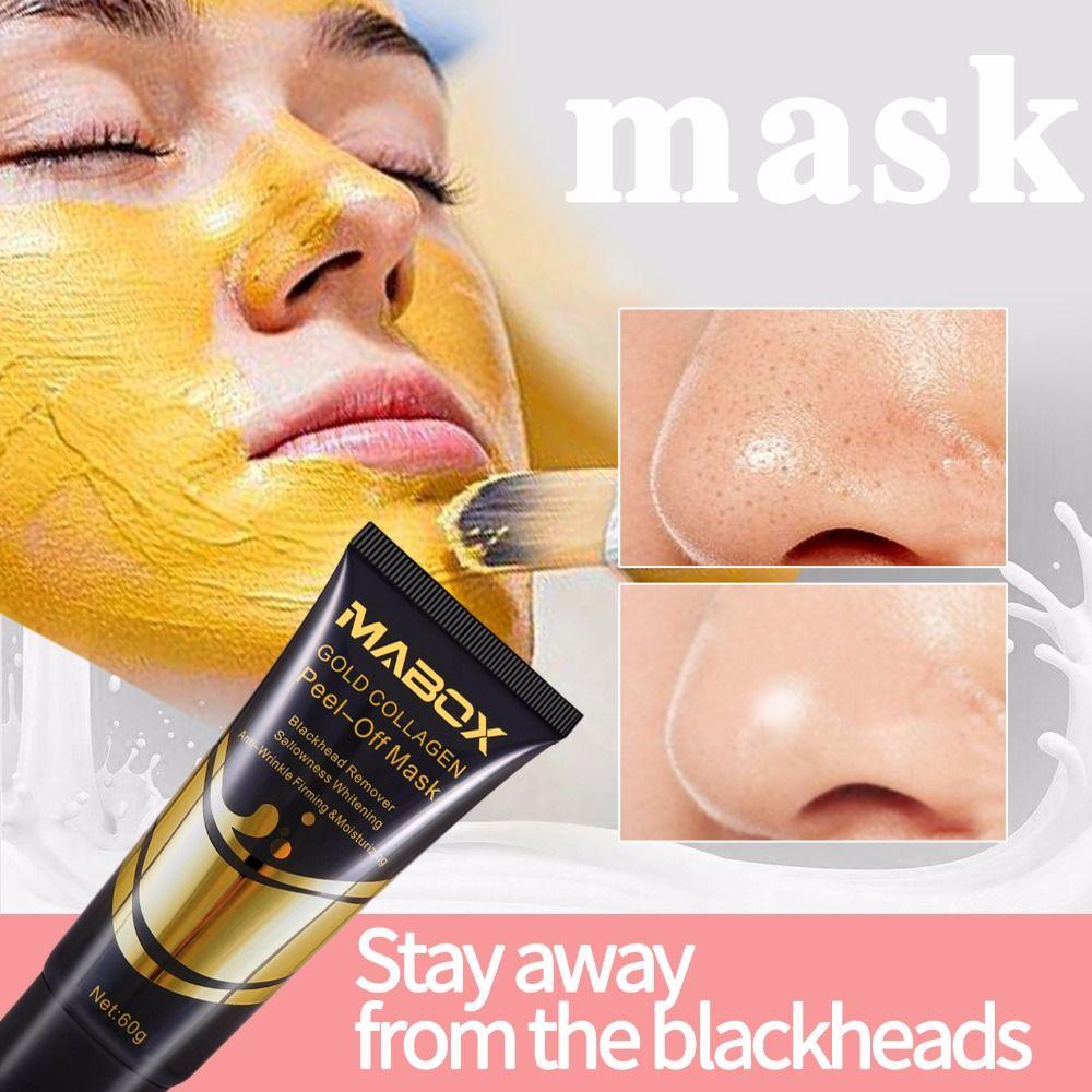 Отбеливающая маска для лица Blackhead, отшелушивающее средство от прыщей Blackhead, ухаживающая маска для лица от морщин и пигментных пятен