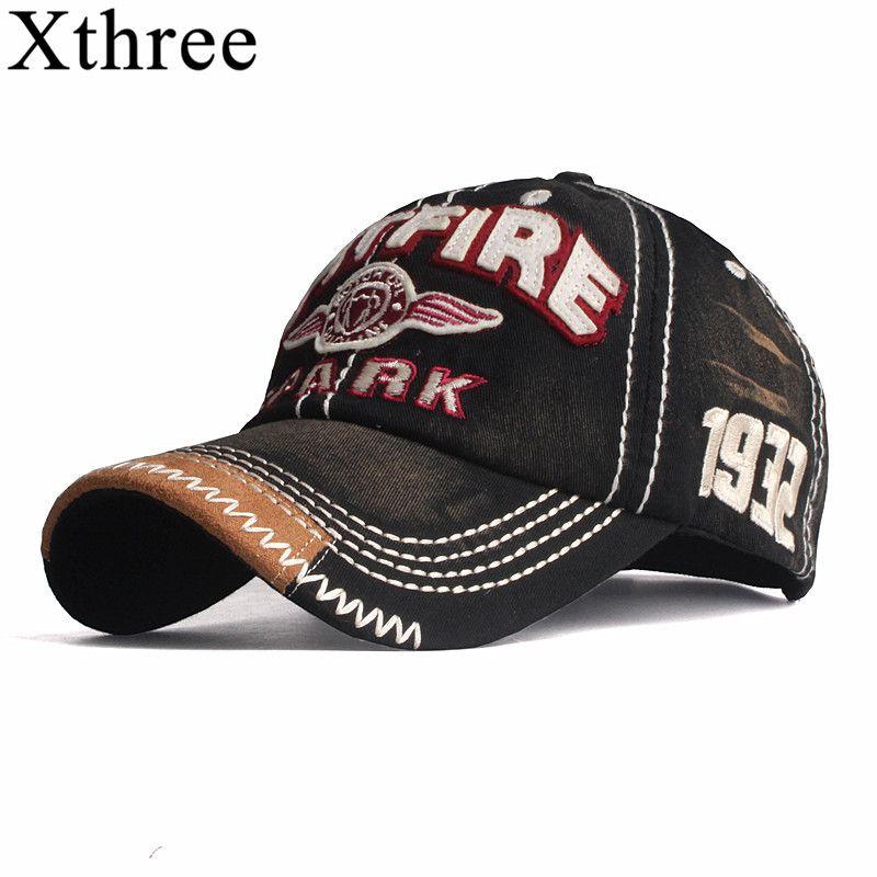 Xthree nouvelles casquettes de baseball pour hommes casquette style streetwear femmes chapeau snapback broderie casquette décontractée casquette papa chapeau casquette hip hop