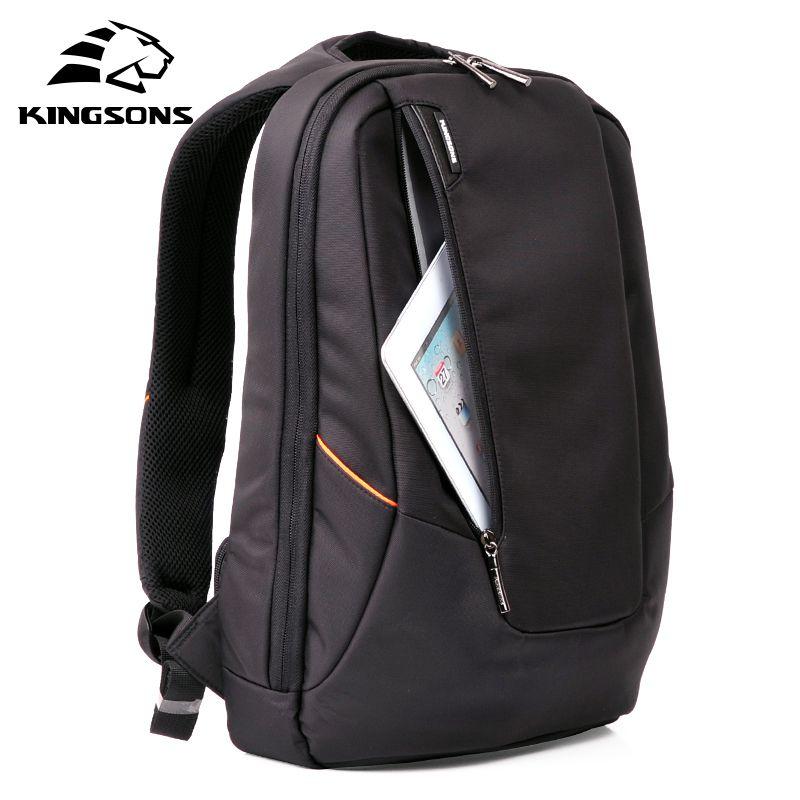 Kingsons KS3019W Candy Black Laptop Backpack Man Daily Rucksack Travel Bag School Bags 15.6 inch Women Bagpack Mochila Feminina