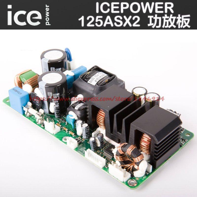 Envío libre icepower amplificador de potencia ICE125ASX2 digital alimentación tablero del amplificador tiene una etapa de fiebre módulo amplificador de potencia