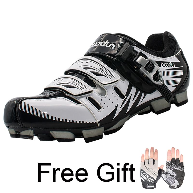 MTB Cycling Shoes Mountain bike pedal shoes Lock Shoes SPD Cleated Bicycle Shoes Fietsschoenen Zapatillas Ciclismo