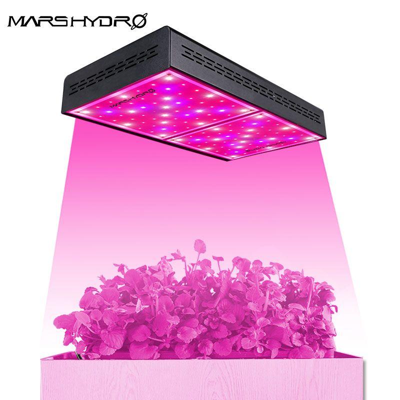 Mars Hydro ECO 600W LED Wachsen Licht Lampe Indoor Garten Pflanzen Gesamte Spektrum Hydrokultur System für Wachsende zelt Box