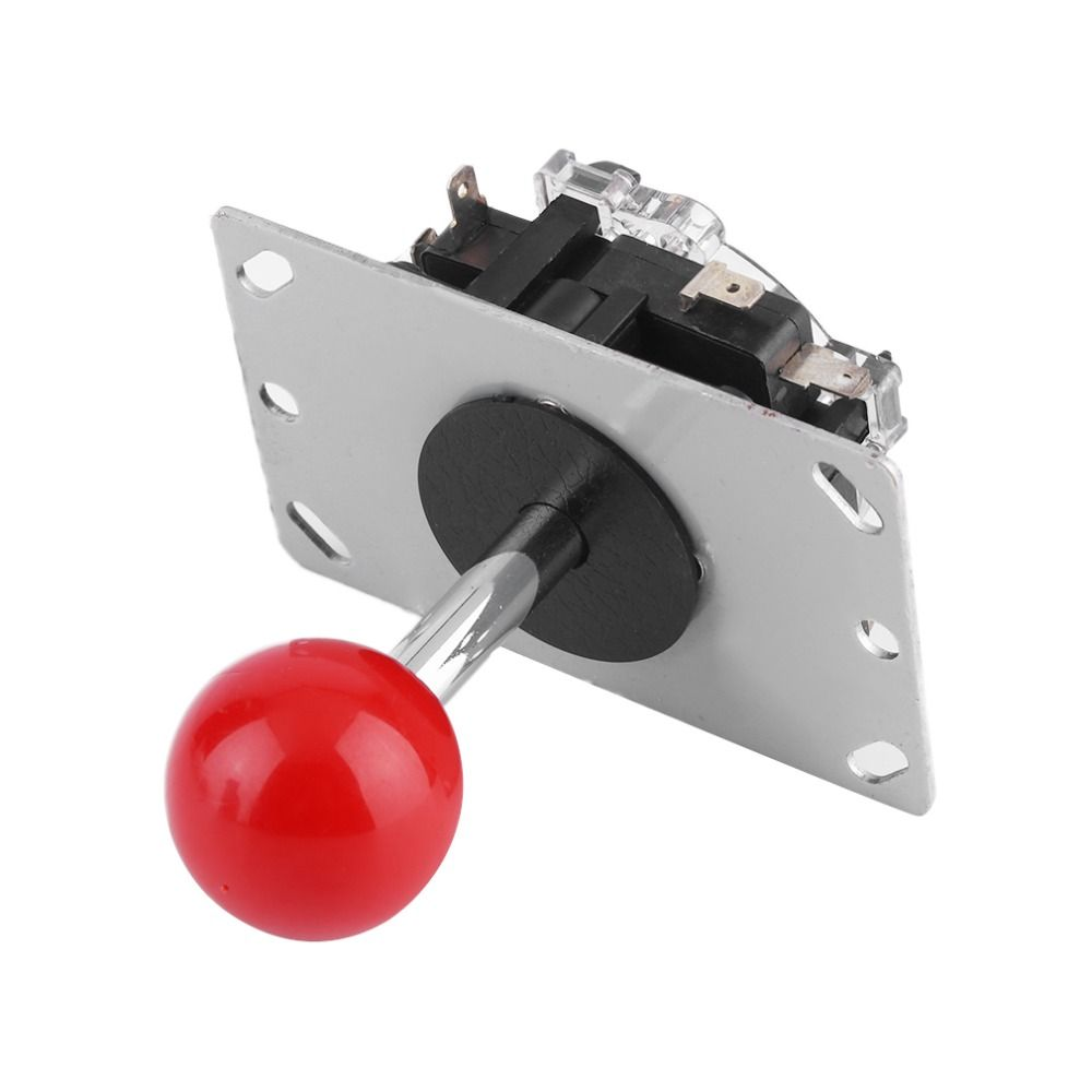 New 4/8 way Arcade Game Joystick Ball Joy Stick Red Ball Replacement Stock Offer Wholesale