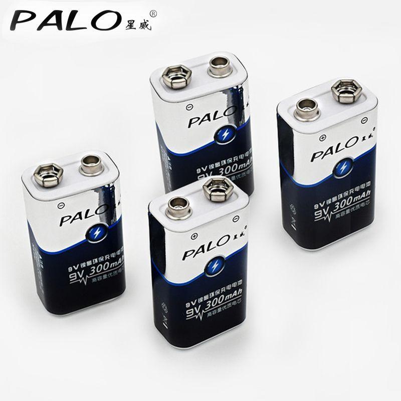 Низкая цена и высокое качество 4 шт. 6lr61 6F22 006 P 9 В NiMH 300 мАч перезаряжаемый аккумулятор для инструментов или батареи пакеты