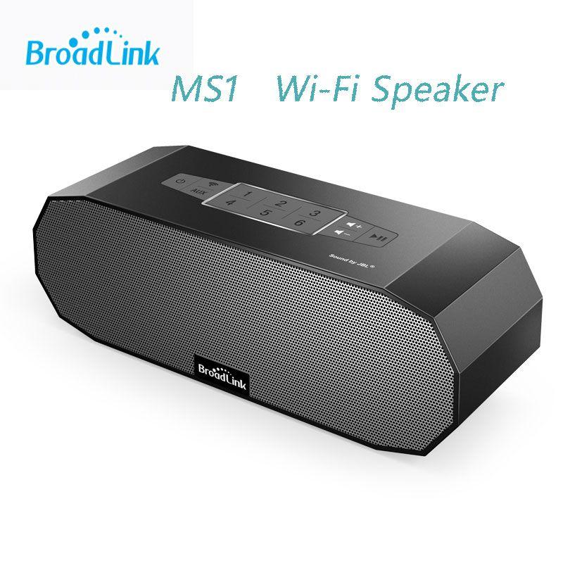Broadlink MS1, WiFi Mini Wireless Portable Intelligent Speaker Audio Ndfeb Magnet Dual Stereo+Dual Passive Radiator Smart Home