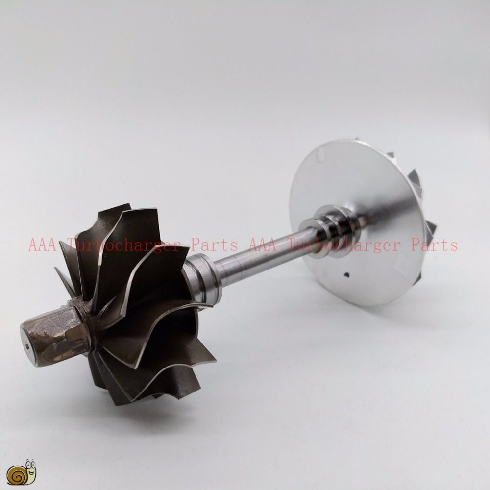 K03 Turbine wheel 37.8x45mm, Compr wheel 36.6x51mm,K03 Turbo part/Rebuild kits rotor in assembly supplier AAA Turbocharger Parts