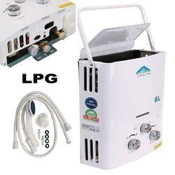 (Ship from AU) 6l GLP al aire libre calentador de agua de gas 100% calidad para termostática sin tanque Bañeras caldera ducha