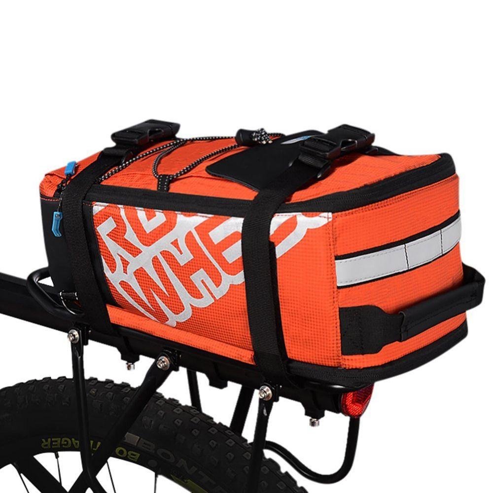 ROSWHEEL Vtt Vélo Vélo Rack Tronc Sac D'équitation Vélo Siège Arrière Pannier Mountain Road Vélos Porte-Bagages Arrière de Transport À La Main Sacs
