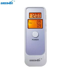 GREENWON alcohol breathalyzer Analyzer Detector Digital LCD Alcohol Breath Tester