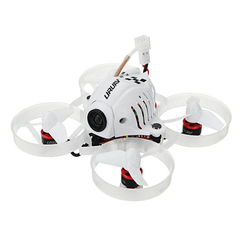 URUAV UR65 65mm FPV Racing Drone BNF Crazybee F3 Flight Controller OSD 5A Blheli_S ESC 5.8G 25mW VTX RC Quadcopter VS Tiny 6x 7x