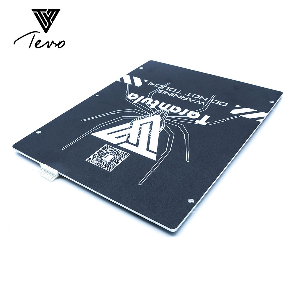 TEVO Tarantula heat bed Large build area 200*280*3.5mm Black Aluminium heat bed 3D Print Heat bed Hot Plate for 3D Printer part