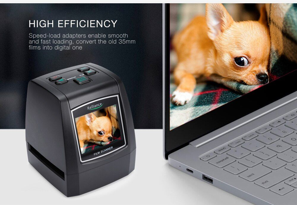 14MP 135mm film camera Portable SD card Film scan Photo Scanners Negative Film Slide Viewer Scanner USB MSDC Film Converter 018