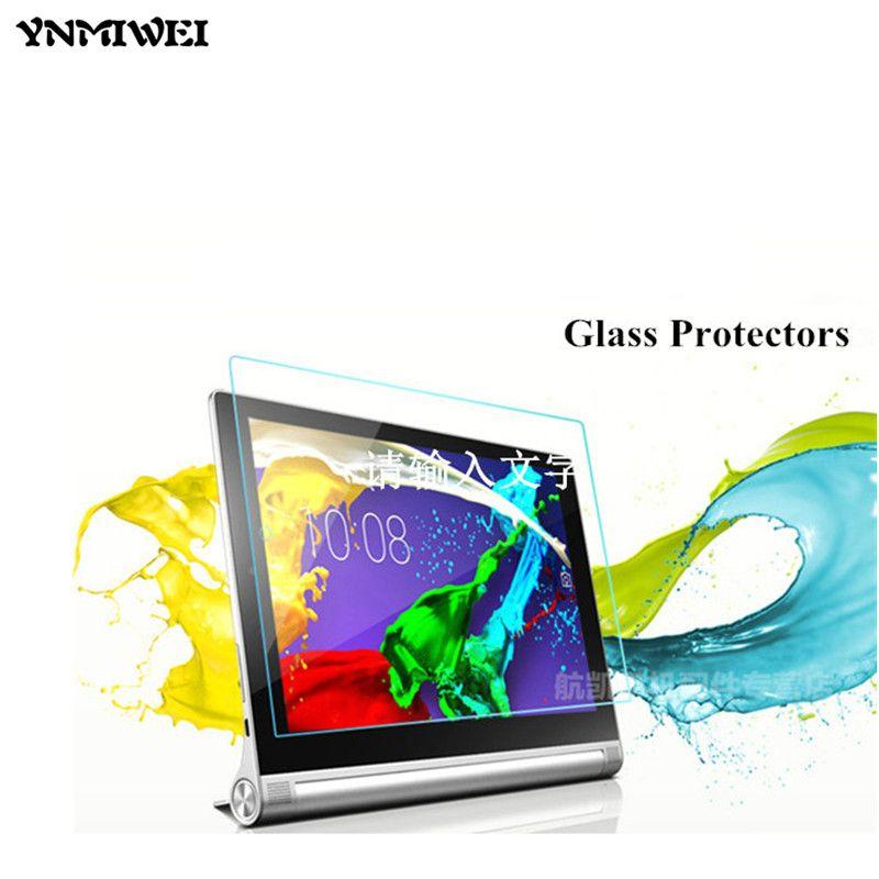 Tablette DE YOGA 2 1050F Verre Écran Protecteurs Pour lenovo yoga tablet 2 10 1050F 1050 1051F 1050L 10.1 tablet écran protecteur