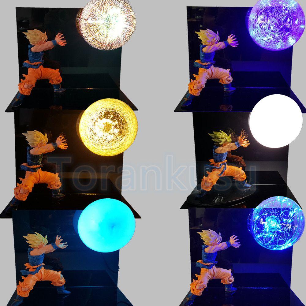 Dragon Ball Z Son Gokou Kamehameha DIY Display Toy Anime Dragon ball SC Goku Action Figure Super Saiyan Collectible Model DIY149