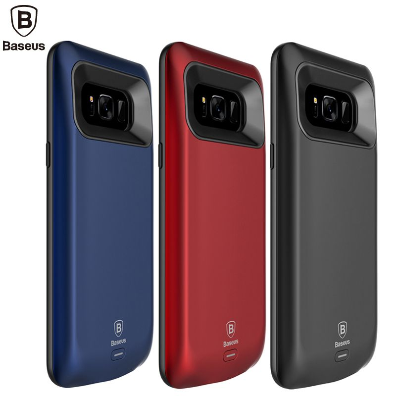Baseus Battery Charger Case For Samsung Galaxy S8 5000/5500mAh Power Bank Case For S8 Plus External Backup Battery Charging Case