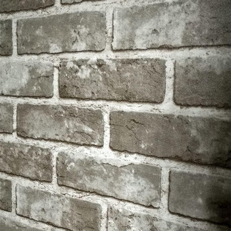 Vintage Chinesischen Stil Ziegel Wand Tapete Schlafzimmer Wohnzimmer 3D PVC Ziegelstein Tapete Für Wände Rollen Papel De Parede 3D