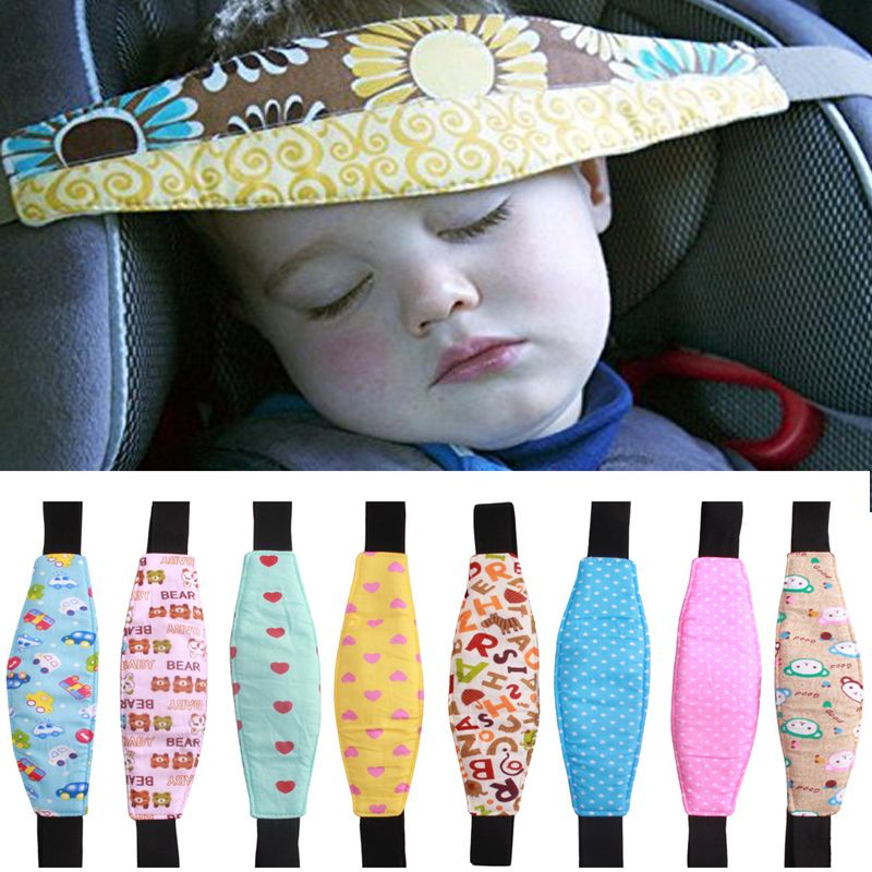 GSPSCN Childred Head Support 1.5m/59 Baby Car Seat Headrest Sleeping Head Pad Covers For Kids travel Auto interior accessories