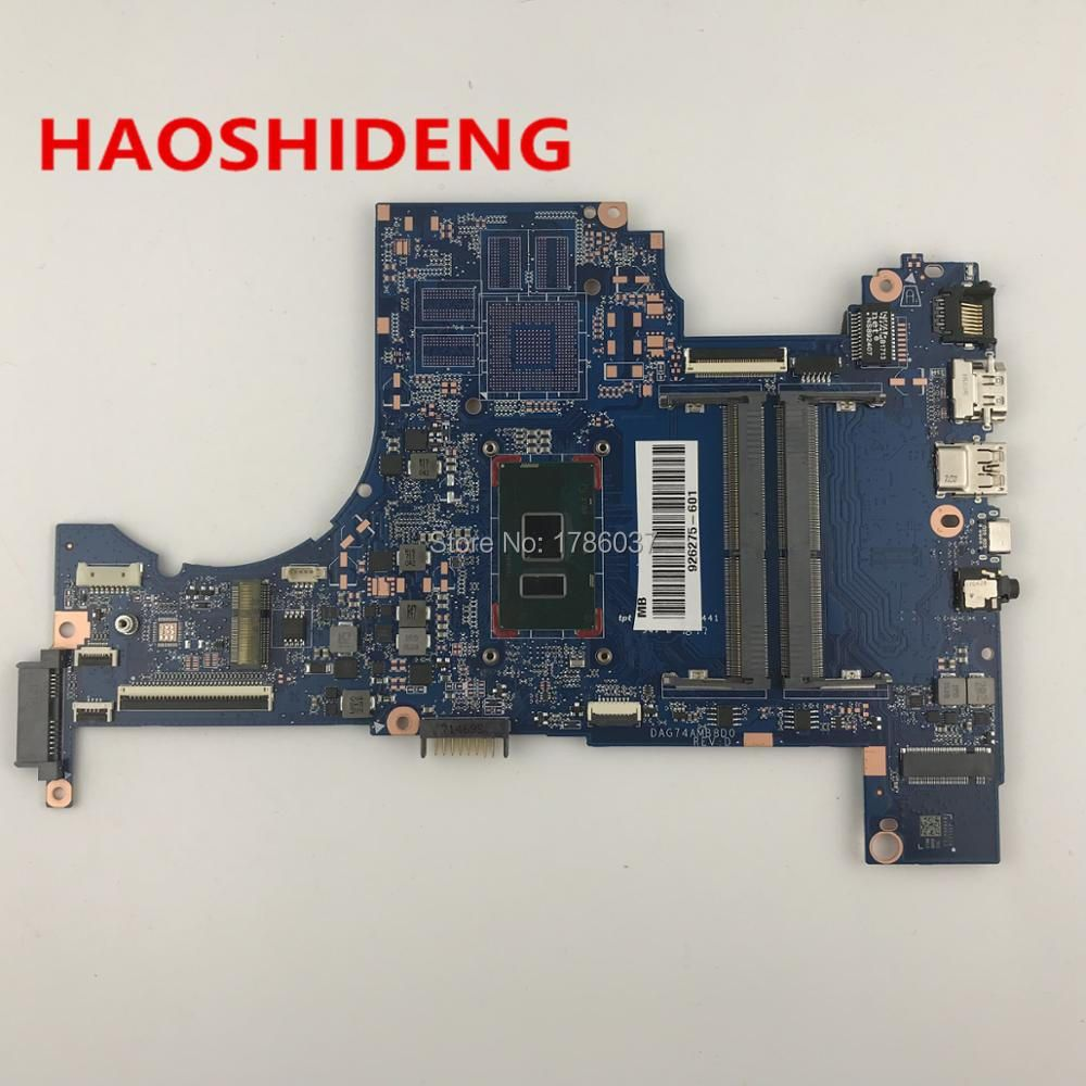 926275-601 DAG74AMB8D0 for HP Pavilion 15-cc series Laptop motherboard with i5-7200U CPU.All functions fully Tested !