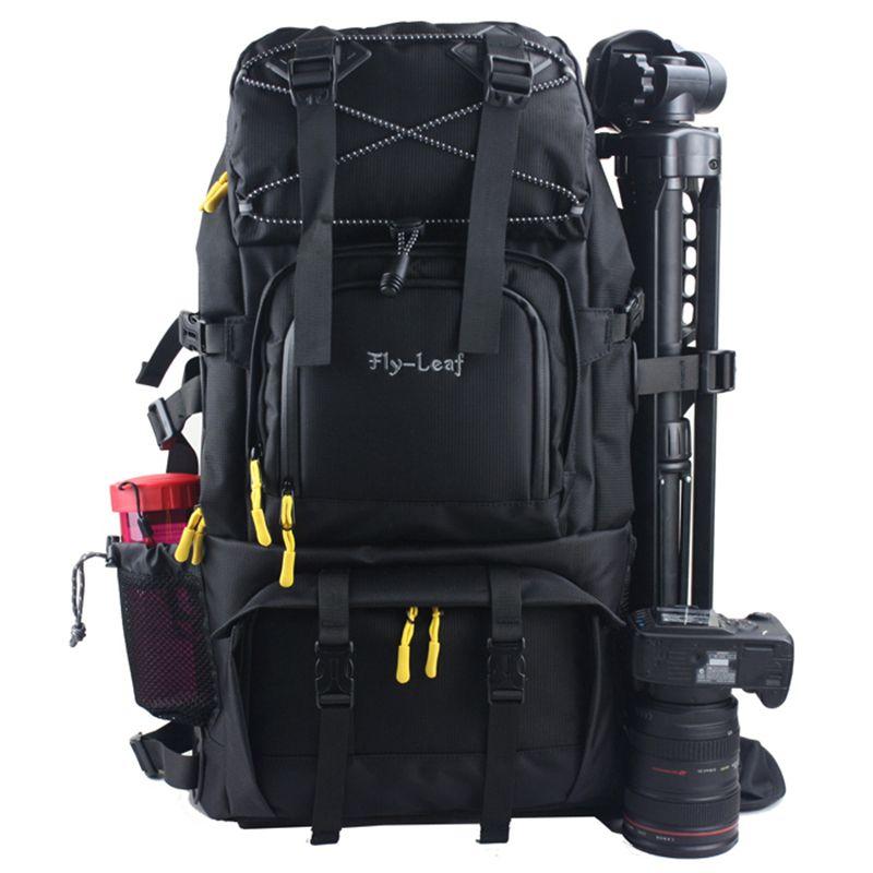 Große Kapazität DSLR Kamera Tasche Wasserdichte Reise Kamera Rucksack Stoßfest Professionelle Fotografie Taschen für Kamera Linse