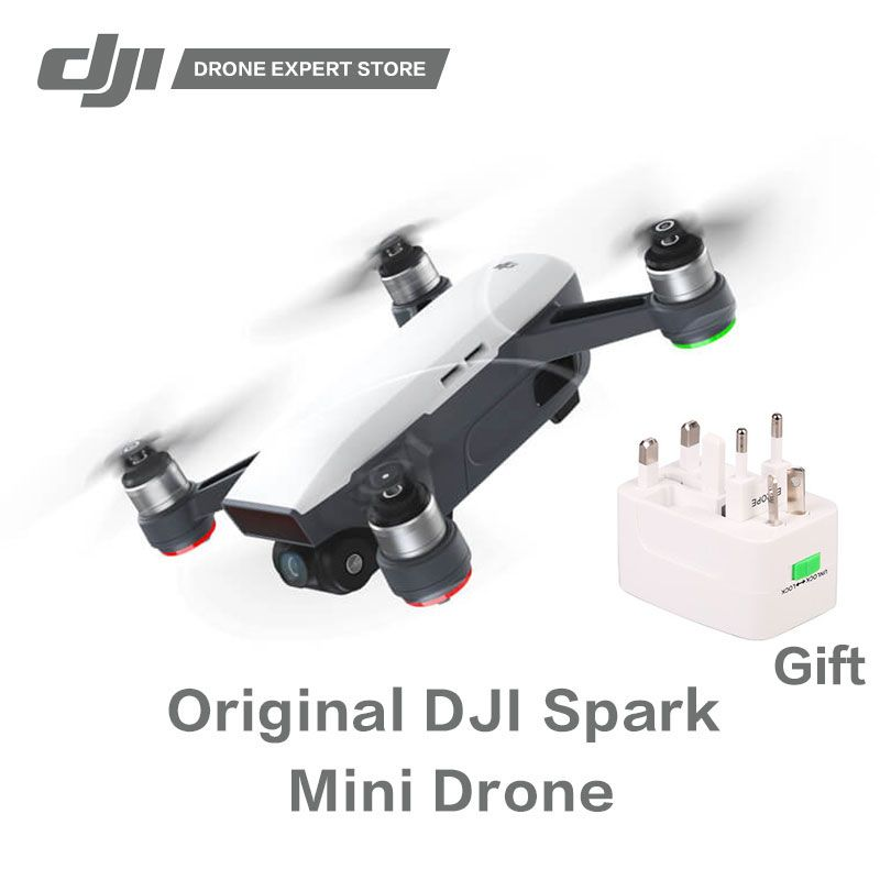 Original DJI Spark Quadcopter Portable Drone with Gesture Control Wifi FPV 1/2.3 inches Sensor Panorama Photography 1080P Video
