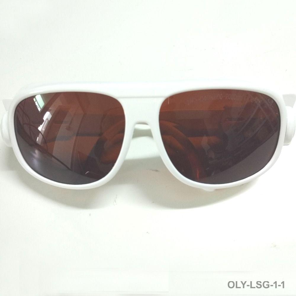 Laser schutzbrille mit O.D 6 + Für 190-540nm und 800-1700nm 266 405 445 450 473 515 532 520 808 810 980 1064 1320 1470 laser